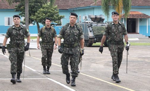 5º BE CMB BLD de Porto União tem novo comandante