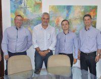 Prefeito Luis Otávio se reúne com diretor de negócios da SICOOB