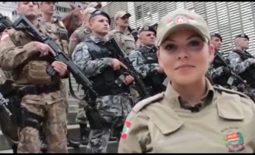 10 de fevereiro Dia Estadual da Mulher Policial Militar de SC
