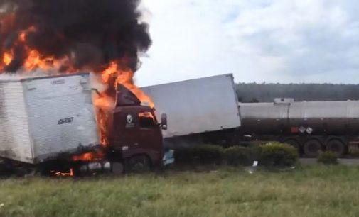 Acidente ocorre em Minas Gerais e não no Sul do Paraná