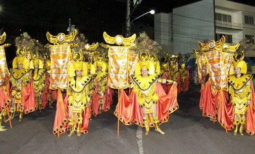 Bituruna se destaca no Carnaval de Joaçaba