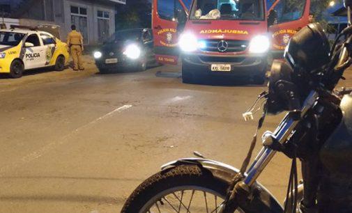 Ciclista é atropelado em União da Vitória