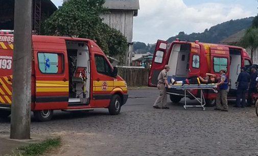 Duas pessoas ficam feridas em acidente na divisa das cidades irmãs