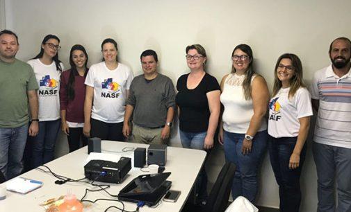 Equipe do NASF visita unidade de Piraquara