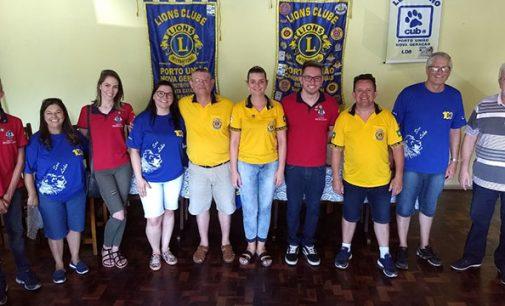 Governador do Lions visita Porto União