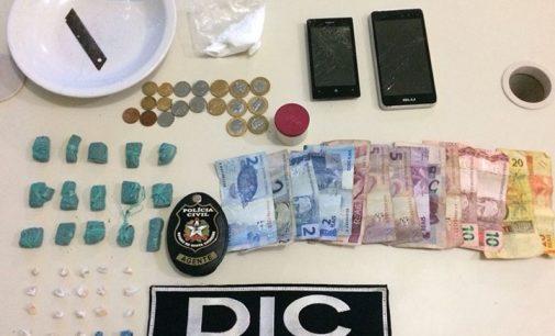 Homem é preso por venda de drogas em Porto União