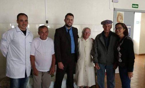 Juiz Mattioli e equipe do CEJUSC visitam Lar De Nazaré