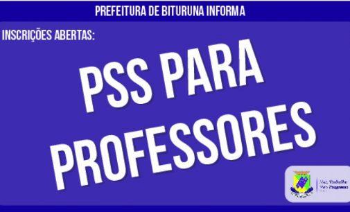 Prefeitura de Bituruna abre PSS para professores