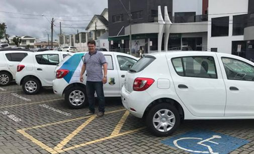 Saúde de Bituruna recebe sete veículos