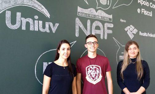Sala do NAF abre hoje na Uniuv de União da Vitória