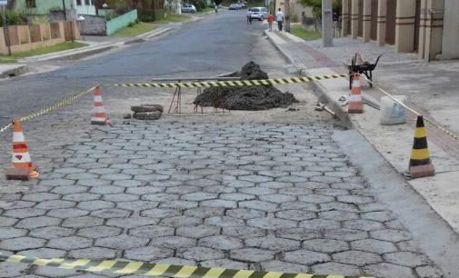 Setor de Obras finaliza reparos na rua Helmuth Müller