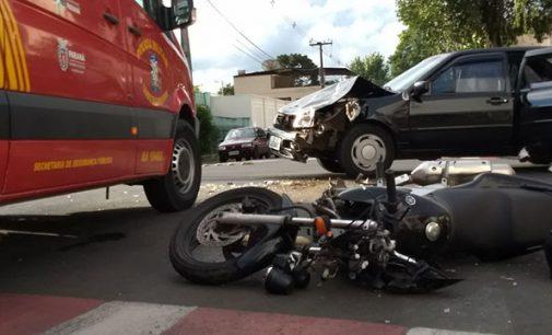 Em 20 minutos dois acidentes em União da Vitória