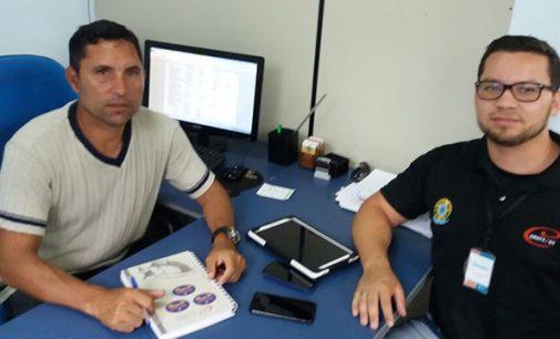 DME de Porto União recebe visita de representante do CREF