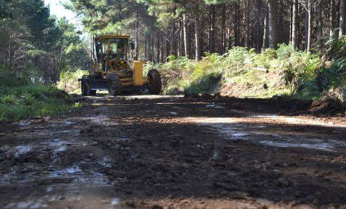 Estrada antiga de Matos Costa a Caçador é recuperada