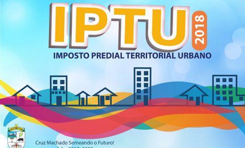 IPTU 2018 já está disponível em Cruz Machado