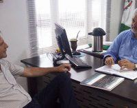 Luis Otávio recebe visita do prefeito de Porto União
