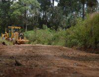 Manutenção das estradas de General Carneiro