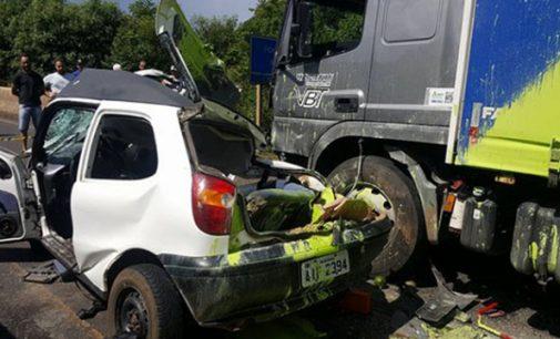 Morre a segunda passageira do veículo Fiat Palio de Bituruna