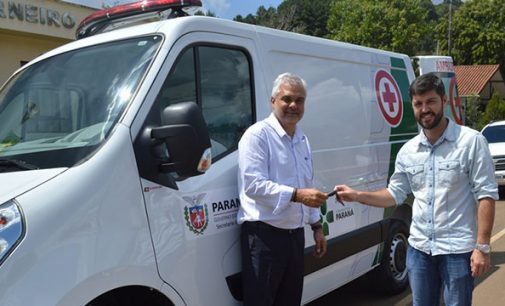 Nova ambulância para General Carneiro