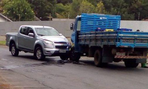 PM registra acidente no bairro São Francisco