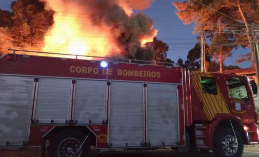 Uma pessoa morre em incêndio em Porto União