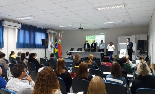 Conae etapa Porto união, discute educação local