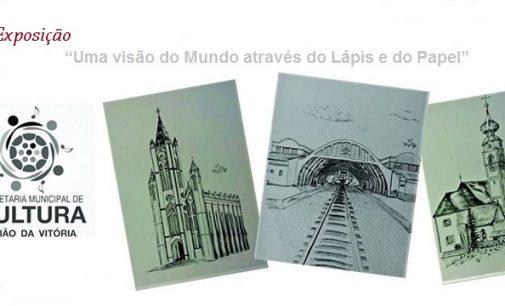 """Exposição: """"Uma visão do Mundo através do Lápis e do Papel"""", abre dia 23"""