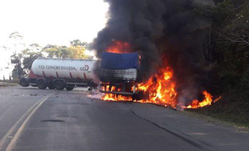 Grave acidente na BR 476 deixa um morto em Paulo Frontin