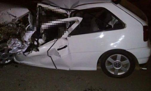 Grave acidente na BR 476 em Paula Freitas