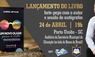 """Livro: """"Um novo olhar para a vida"""", será lançado em PU"""