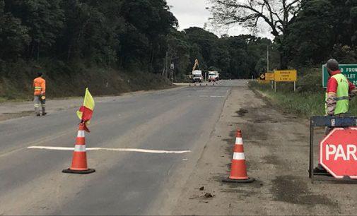 Obras do novo trevo da BR 476 têm inicio em Paulo Frontin