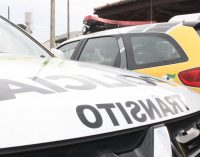 Policiais de UVA atendem acidente de trânsito