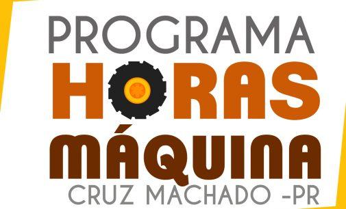 """População de Cruz Machado conta com Programa """"Horas Máquina"""""""