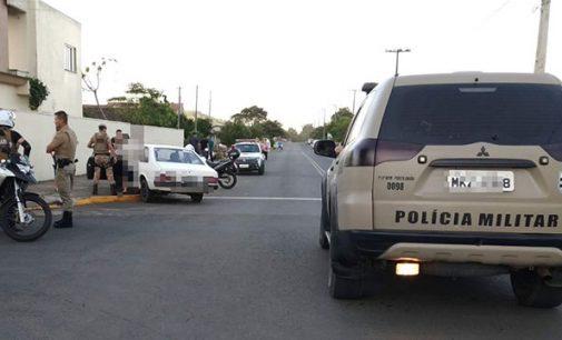 Motorista é detido por dirigir na contra mão