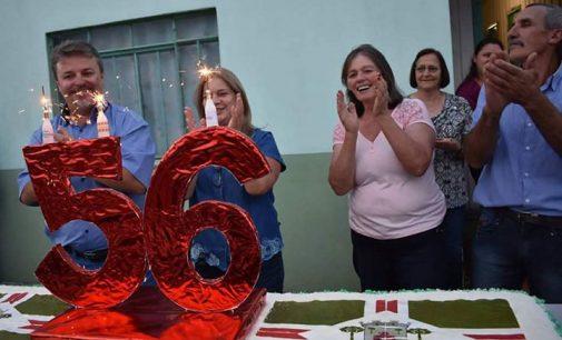 Bolo e novas maquinas marcam os 56 anos de Matos Costa