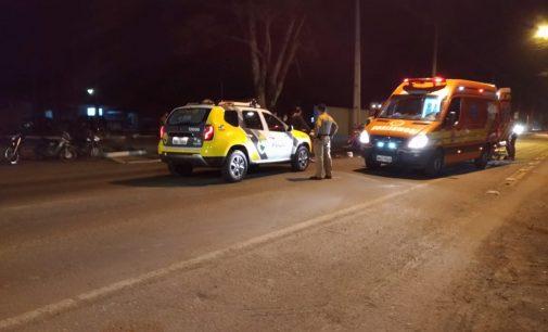 Acidente na BR 280 deixa dois feridos em Porto União