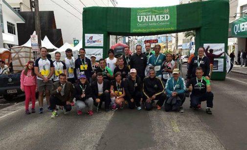 Atletas de PU trazem bons resultados do Circuito Unimed em Joaçaba