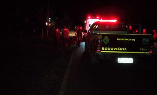 Acidente na PR 447 deixa dois mortos