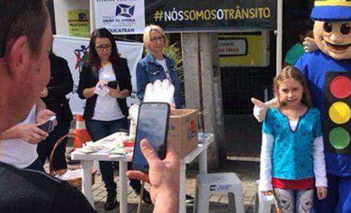 Campanha Maio Amarelo promove Blitz de conscientização de trânsito