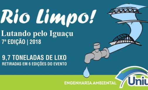 7ª edição do Projeto Rio Limpo acontece neste sábado em UVA