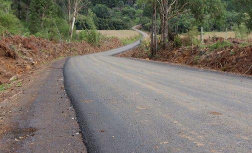 Estrada pavimentada da Linha Engano será inaugurada hoje