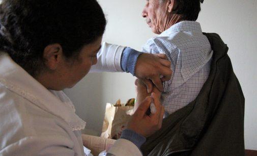 Bituruna prorroga a vacinação da gripe devido aos baixos índices