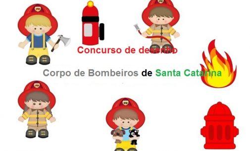 Corpo de Bombeiros de SC lança concurso de desenho