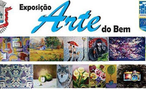 """Exposição """"Arte do Bem"""" abre nesta terça-feira em UVA"""