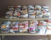 Famílias de Bituruna recebem alimentos arrecadados
