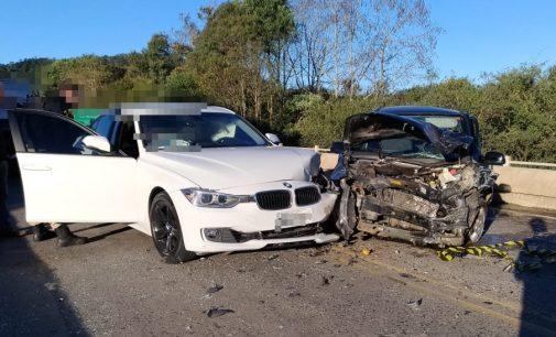 Acidente de trânsito na BR 153 deixa uma pessoa ferida