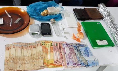 PM fecha ponto de tráfico de drogas em União da Vitória