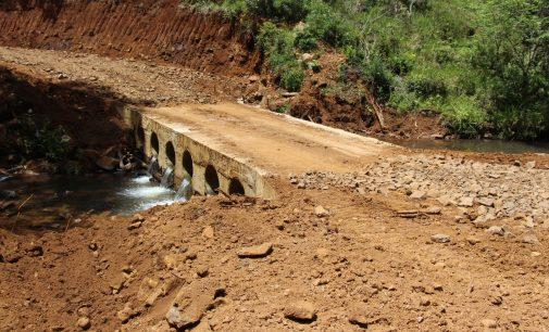 Prefeitura de Bituruna entrega quatro pontes