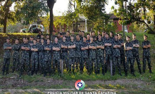 Policiais de PU são capacitados em Policiamento Militar Ambiental
