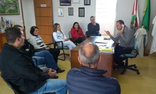 Prefeito de Porto União se reúne com equipes dos hospitais
